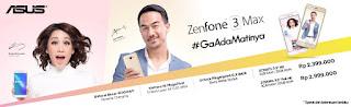 Harga Asus Zenfone 3 Max BCL dan Joe Taslim