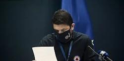 Την αυστηροποίηση των μέτρων προστασίας κατά του κορονοϊού ανακοίνωσε ο υφυπουργός πολιτικής προστασίας και διαχείρισης κρίσεων, Νίκος Χαρδα...