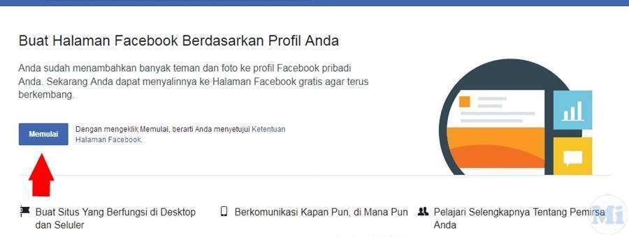 Cara Merubah Akun Facebook Menjadi Fans Page Menit Info