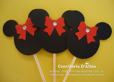 toppers festa minnie