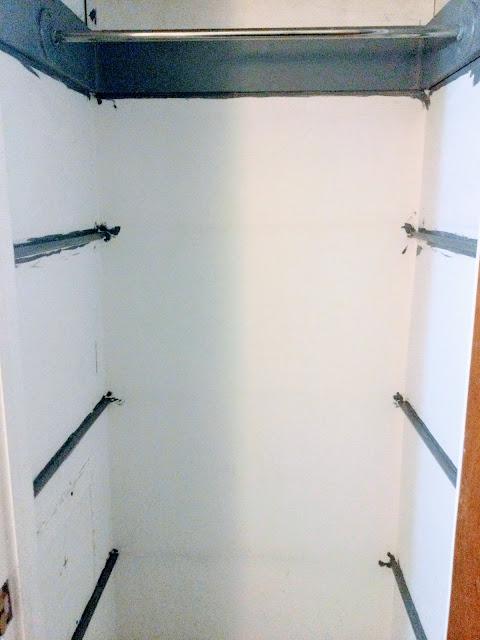 gray trim closet