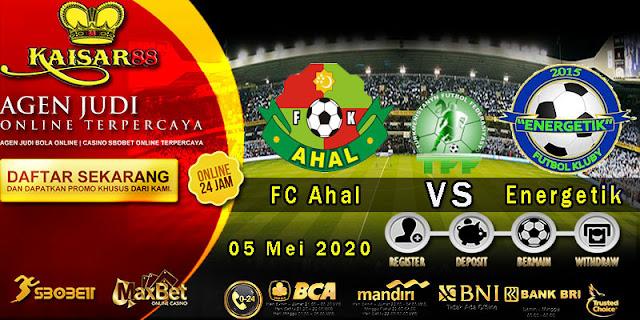 Prediksi Bola Terpercaya Liga Turkmenistan FC Ahal vs Energetik 05 Mei 2020