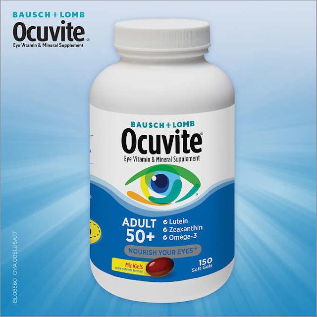 Viên uống bổ mắt Ocuvite Eye vitamin 50+