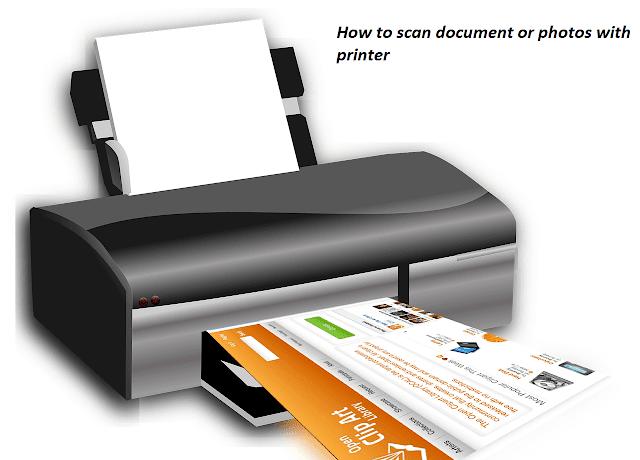 cara scan dokumen dan foto dan gambar dengan printer
