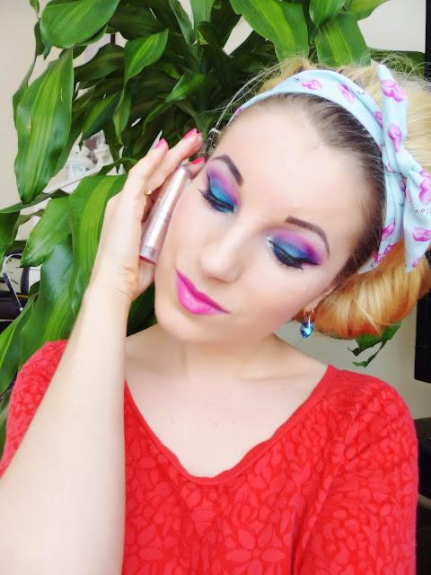 Pink & Blue - Urban Decay Makeup