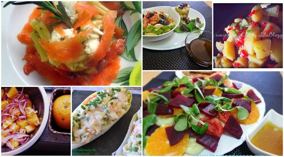 ensaladas frescas verano