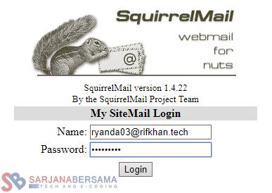 Cara Install SquirrelMail pada CentOS Webuzo VPS dan Penjelasannya Lengkap