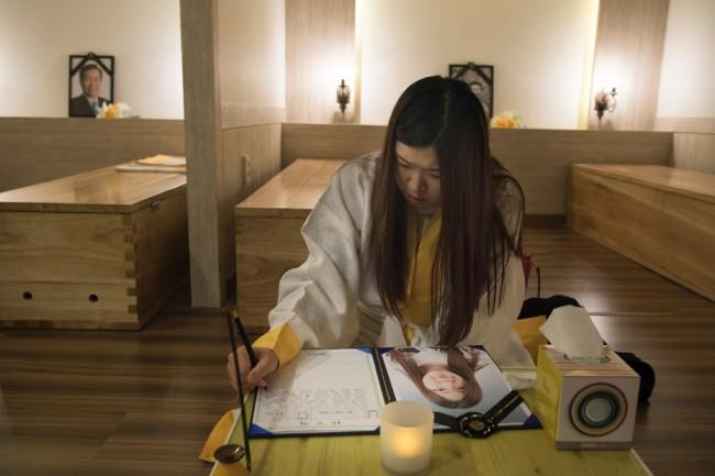 Hàn quốc nằm trong quan tài cảm nhận cái chết tìm ý nghĩa cuộc sống