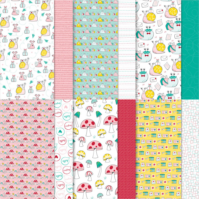 Snail Maili Designer Series Paper