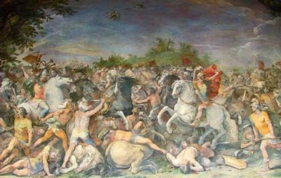 Civita di Bagnoregio fu catturata da Roma durante le guerre romano-etrusche.