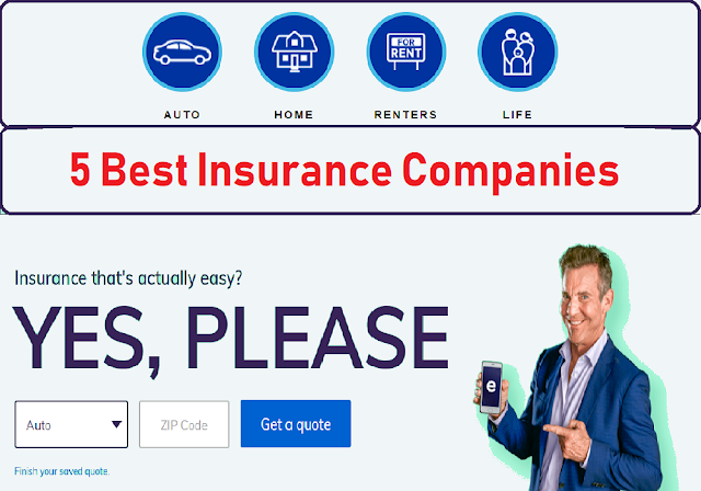 Insurance Quotes Online >> Top 5 Best Insurance Companies For Insurance Quote Online