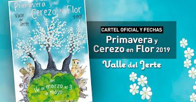 Primavera y Cerezo en Flor 2019. Valle del Jerte