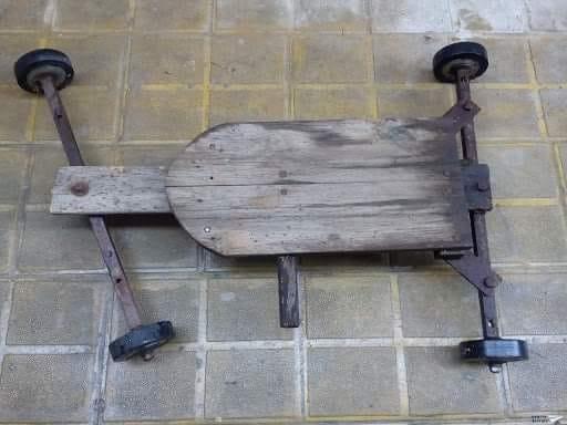 Как някога си правехме сами лагерна количка