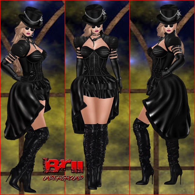 ** MONA GOTHIC STYLE **THE DARKNESS EVENT **