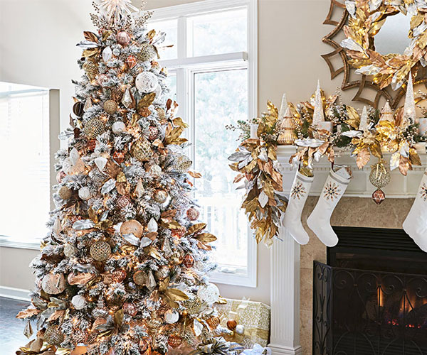 rose gold christmas tree decorations, christmas wishes images