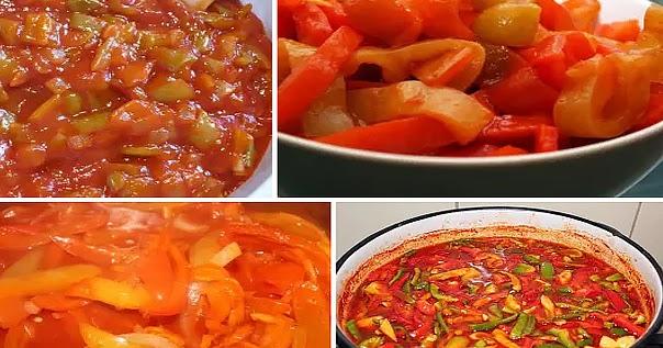 салат из огурцов на зиму в томатной пасте с чесноком на зиму рецепты