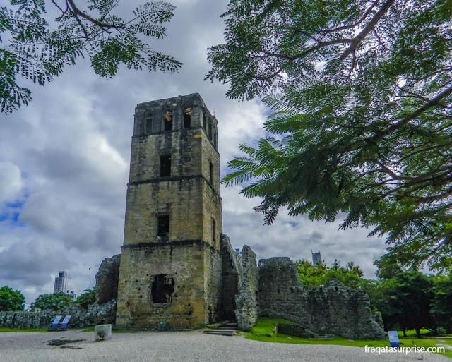Torre da Catedral de Panamá Viejo, Panamá