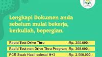NETIZEN kaget PCR Swab Covid-19 di RS Advent Bandung ditarif Rp 2,5 juta