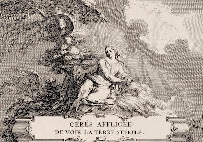 Cérès affligée de voir la terre stérile