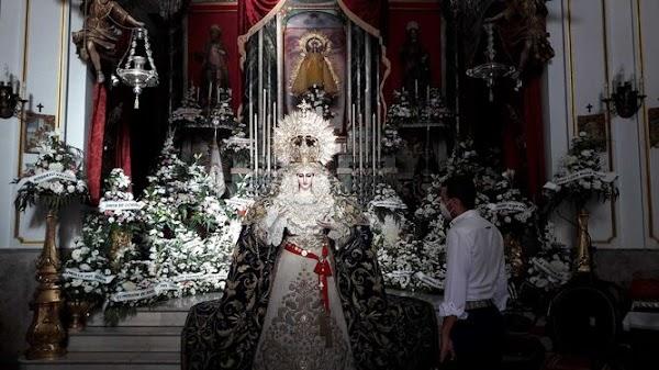 La Virgen de las Penas de Cádiz visitará a la Patrona antes de coronarse
