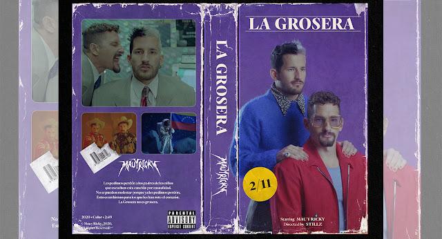"""Mau y Ricky lanzan su nuevo sencillo titulado """"La Grosera"""""""