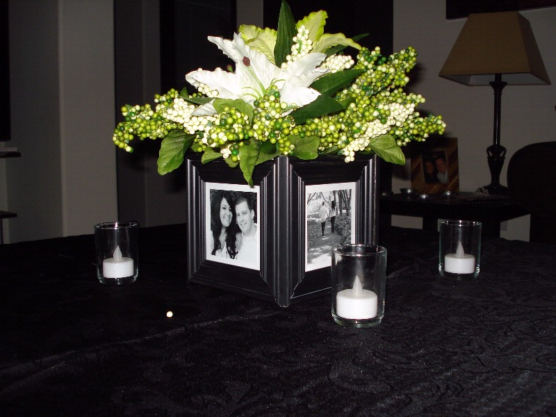 Inspirations of Wedded bliss Centrepieces