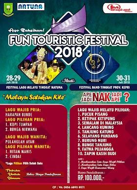 Fun Touristic Festival Natuna 2018