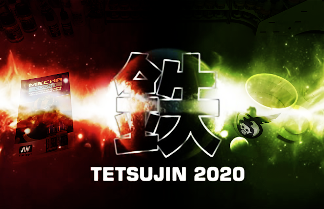TETSUJIN 2020 Vallejo painting Demo Photo