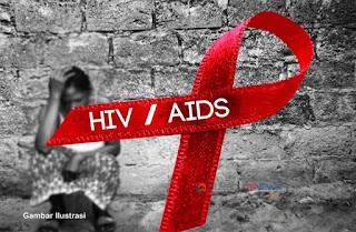 ilustrasi penderita HIV/AIDS dikucilkan