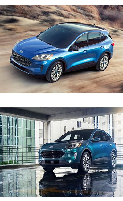 Ford Escape 2021. Màu xanh. Mới 99%