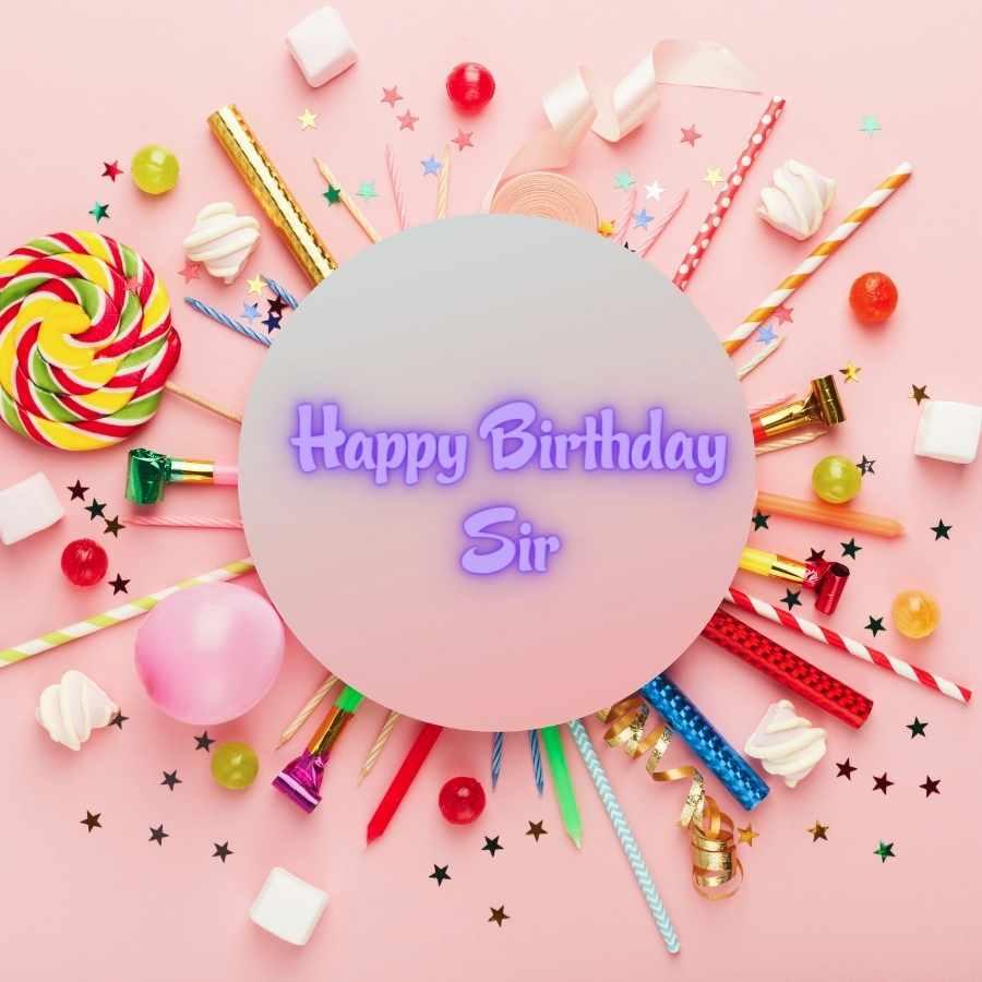 happy birthday sir image