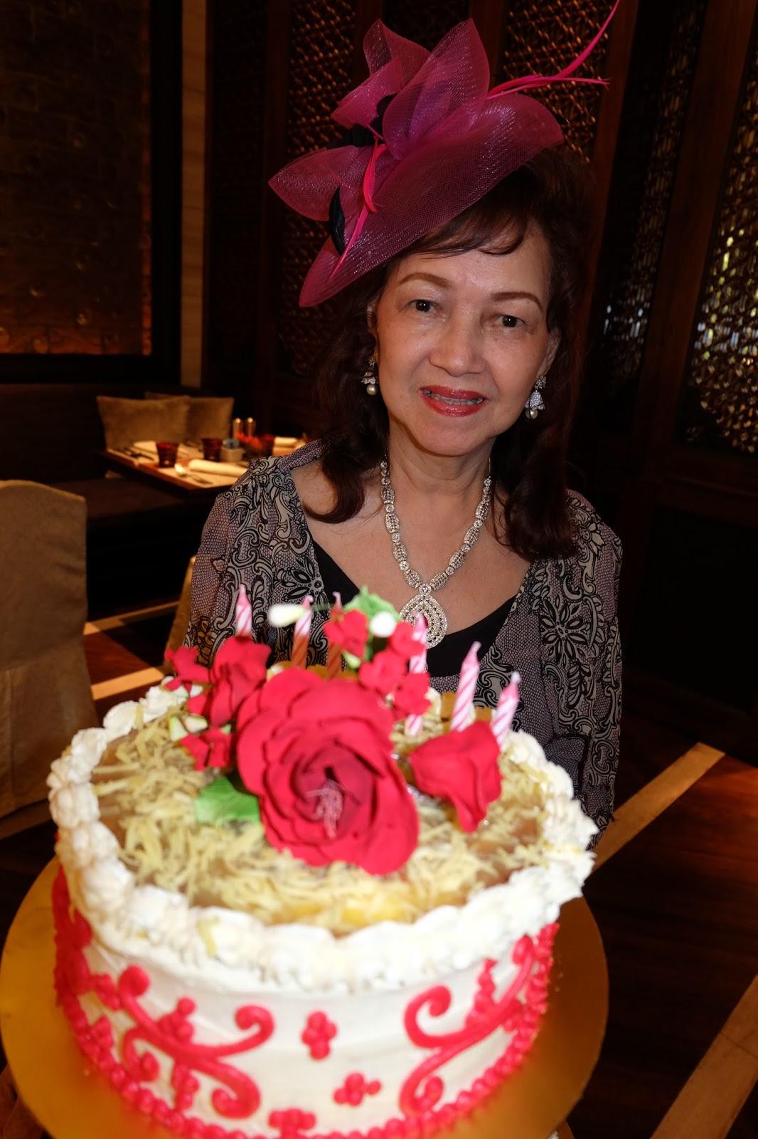 Birthday Cake For Zeny ~ Kee hua chee live zeny ladores celebrates her th birthday at mandarin oriental mosaic