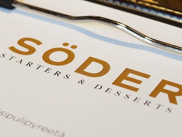 Ravintola Söder tarjoilee runsaita makuja tuoreella tavalla