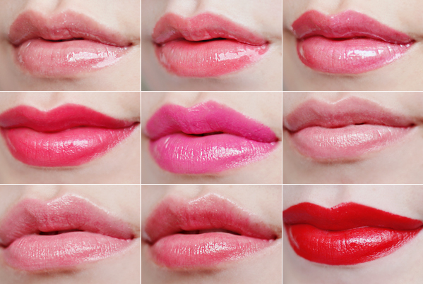 Dior Addict lip gloss lipstick lip glow beauty blog review swatches