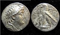 Seleukid Tetradrachm of Demetrius II