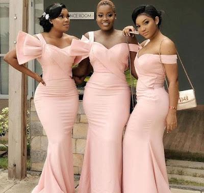 Latest Nigerian Bridesmaid Dresses