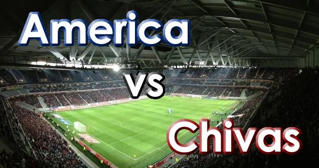America vs Chivas Futbol Mexicano Clasico Nacional