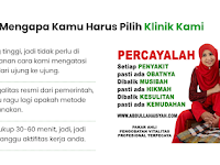 PENGOBATAN ALAT VITA BANGKA BELITUNG H.ABDULLAH AISYAH PROFESIONAL PENGALAMAN TERPERCAYA
