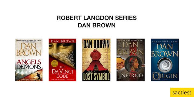 Robert Langdon Series by Dan Brown