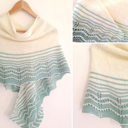 Marcelle Wrap - Free Pattern