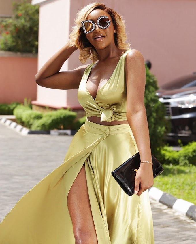 Check Out These Photos Of Idia Aisien, Looking Hot In Topshop!