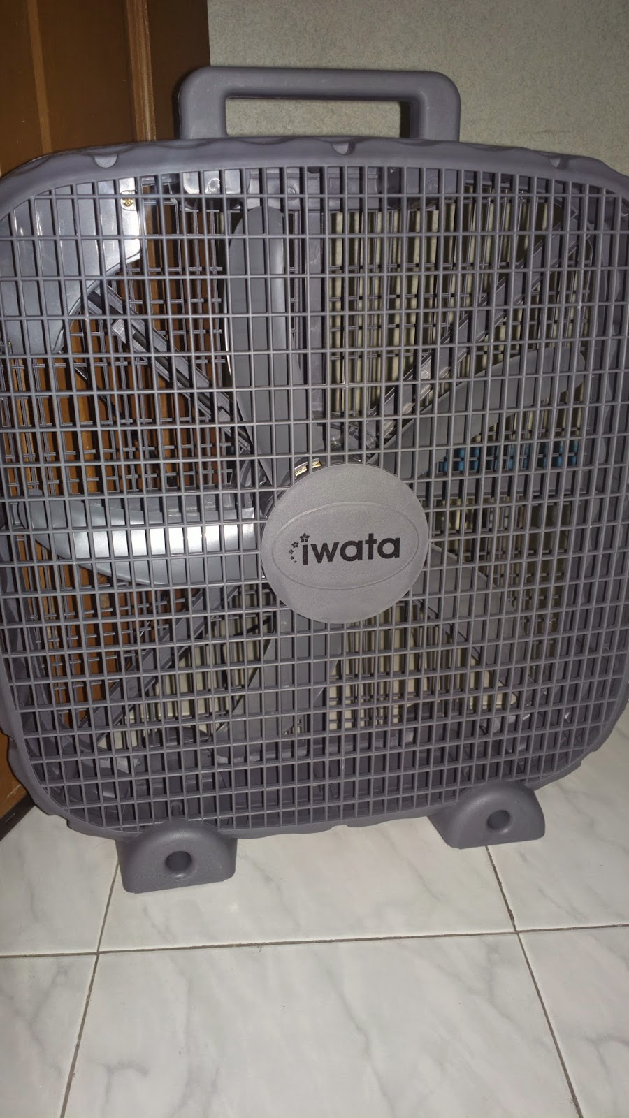 The Iwata Industrial Box Fan