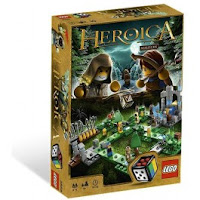 LEGO Heroica Waldurk Forest Game