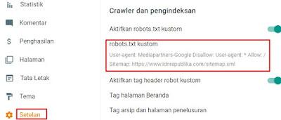 robots.txt kustom