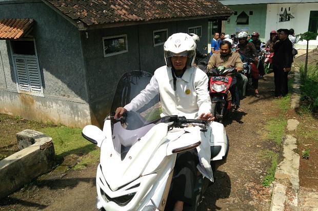 Allahu Akbar! Ikut Aksi 55, Umat Islam Ciamis Konvoi ke Jakarta