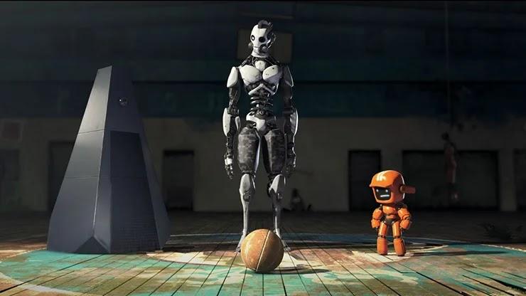 Любовь, смерть и роботы кадры