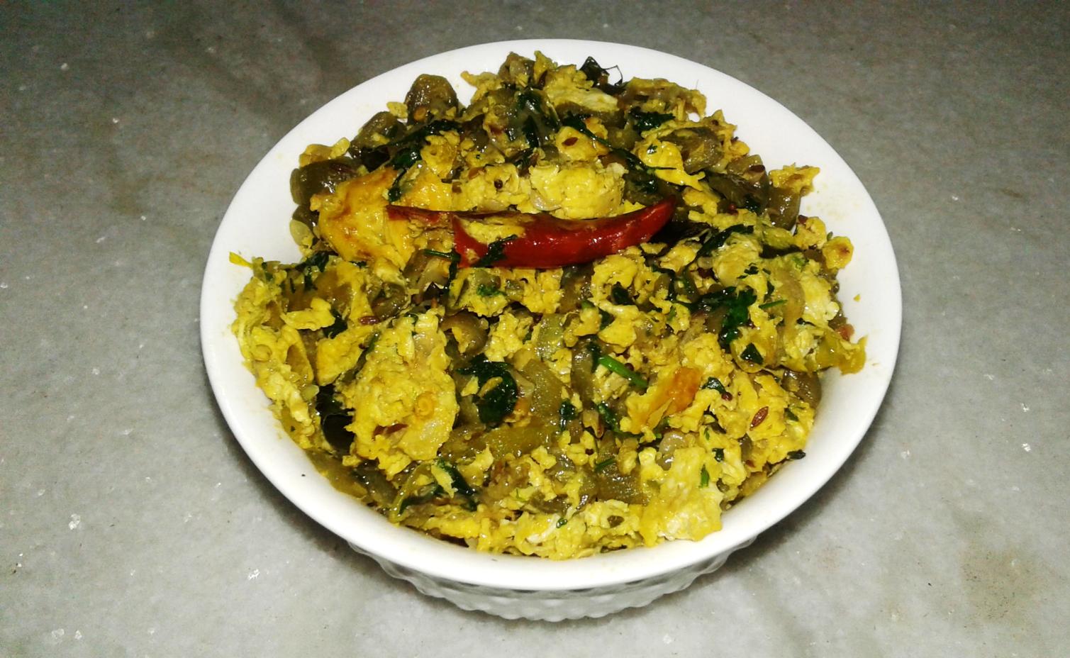 turai egg bhurji
