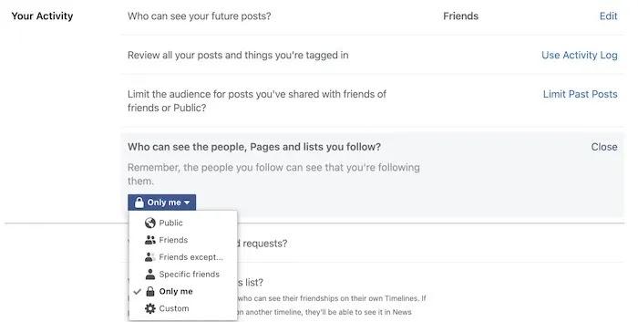 جعل صفحات ملف تعريف Facebook الخاصة