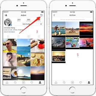 Cara Melihat Snapgram Yang Sudah Lama