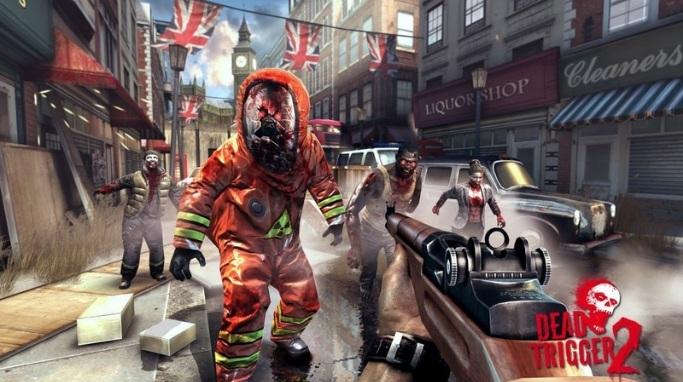 Permainan Zombie di Ponsel Android